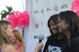 yep :) that's me interviewing these inspirational women