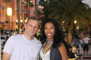 Steve Rifkand and Melanie Fiona